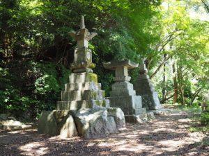 神山一乗寺から神山城跡へ