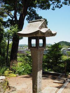 伊佐和神社からの眺望(松阪市射和町)