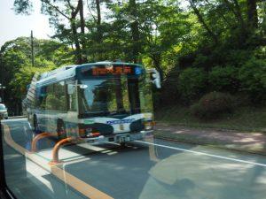バスの車窓から、倭姫宮付近