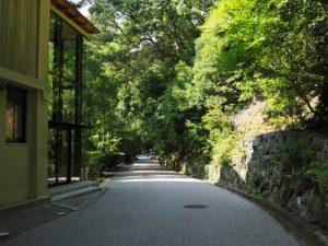 外御厩脇からの裏道(内宮)