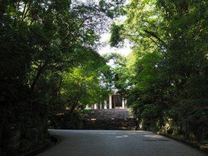 神宮司廳への階段