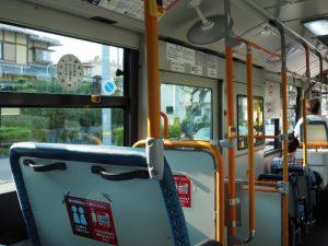 バスの車窓から、猿田彦神社前 バスのりば付近