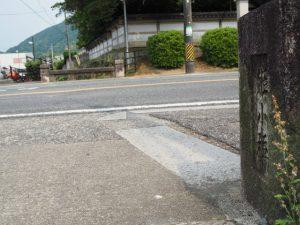 国道23号、姫子橋付近から