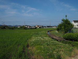 日和神社(伊勢市下野町)付近