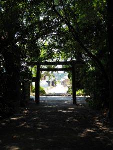 御塩殿神社(皇大神宮 所管社)から御塩道へ