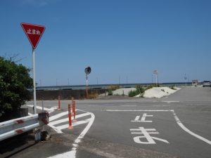 汐合橋(五十鈴川)東詰付近