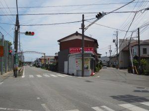 二見街道と御塩道(伊勢市通町)