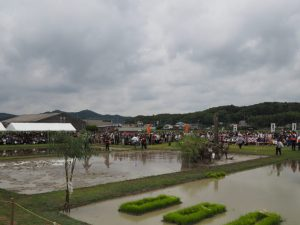 竹取り神事:伊雜宮 御田植祭