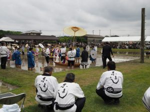 御田植の神事:伊雜宮 御田植祭