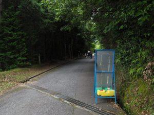 上之郷の石神へ(志摩市磯部町)