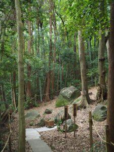 上之郷の石神(志摩市磯部町)