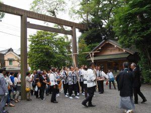 踊り込み:伊雜宮 御田植祭
