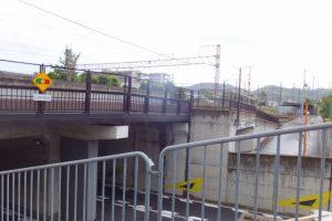 JR奈良線、東海道本線の高架(河原町通)