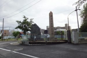 柳原銀行記念資料館付近(京都市下京区下之町)