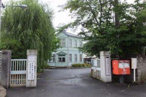 柳原銀行記念資料館入口(京都市下京区下之町)