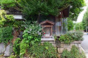 須賀神社付近のお地蔵さん