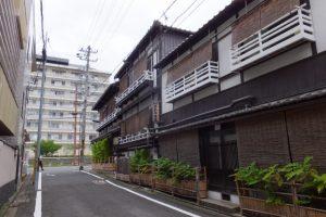 熊野神社から京都教育文化センターへ