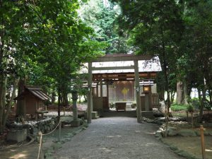 上長屋神社(伊勢市御薗町長屋)