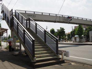 伊勢市宮町歩道橋