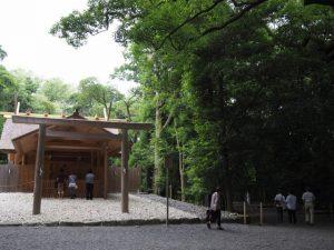 月夜見宮(豊受大神宮 別宮)と高河原神社(同摂社)