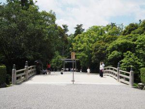 表参道口の火除橋(外宮)