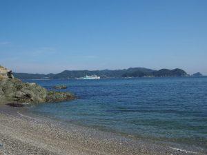 しろんご浜(菅島)
