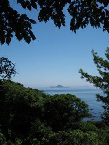神島の遠望(白髭神社〜菅島灯台)