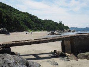 しろんご浜(鳥羽市菅島町)