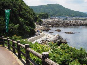 しろんご浜〜菅島漁港