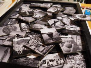 自宅玄関ギャラリーの展示第一作、メインキング