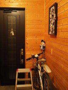 自宅玄関ギャラリーの展示第一作