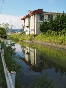 船倉樋門付近(竹ヶ鼻公民館〜国道23号)