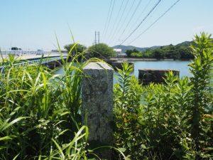 汐合橋(五十鈴川)西詰の道標