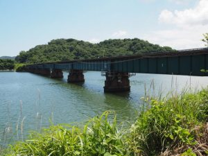 JR参宮線汐合川橋梁(五十鈴川)