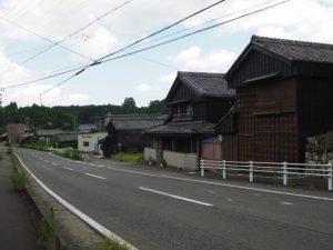 赤福本社付近から神宮神田へ(伊勢市一宇田町)