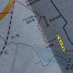 中村町の史跡と変遷の図より旧参宮道部分の抜粋
