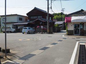 踊り場付近(伊勢市中村町)