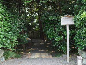 御造替準備が開始された鴨下神社(皇大神宮末社)