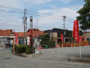 電線共同溝工事中の外宮前(外宮度会橋線)