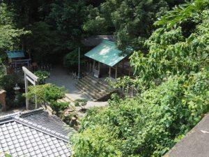 豊栄稲荷神社が移転遷座され姿を消した賀多神社(鳥羽市鳥羽)