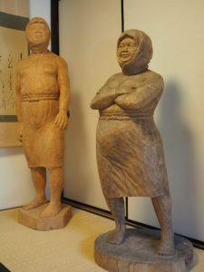 """「彫刻と写真で見る""""海女""""の美」作品展@鳥羽大庄屋かどや"""