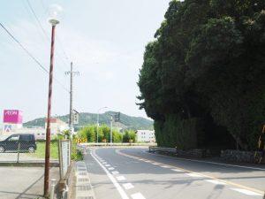 赤崎神社(豊受大神宮 末社)付近