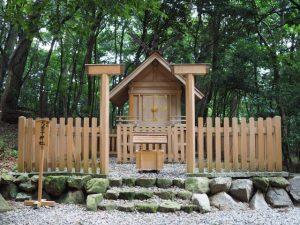 摂社 大若子神社、阿射加神社(松阪市小阿坂町)