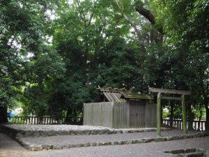 御造替を待つ清野井庭神社(豊受大神宮 摂社)