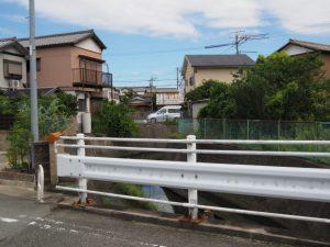 大口橋から船江までの道