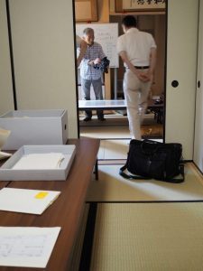古文書の会(2017.8.13)@河邊七種神社社務所