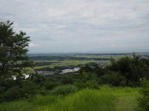 的山・的山公園(玉城町)からの眺望