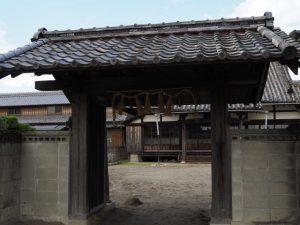 かんこ踊りの名残を残す宝林寺(伊勢市御薗町小林)
