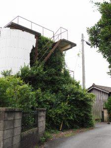 御薗手筒花火製造所付近から二木神社へ