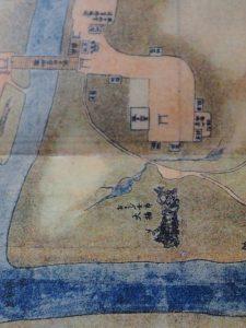 あさぶ女郎 大楠付近(宇治郷之図)